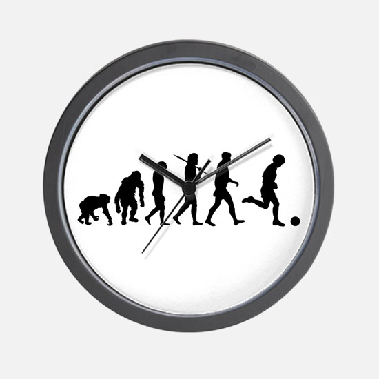 Evolution of Soccer Wall Clock