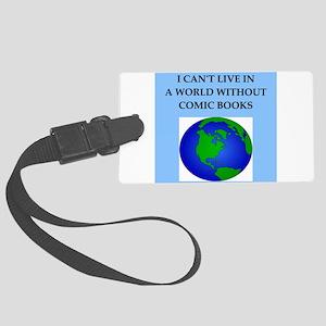 comic books Luggage Tag