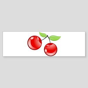 cherries Bumper Sticker