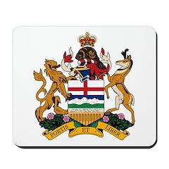 Alberta Coat of Arms (Big) Mousepad