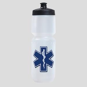 EMS EMT Rescue Logo Sports Bottle