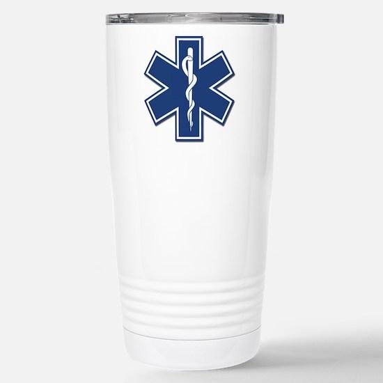 EMS EMT Rescue Logo Travel Mug