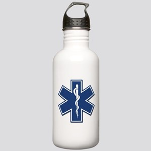 EMS EMT Rescue Logo Water Bottle
