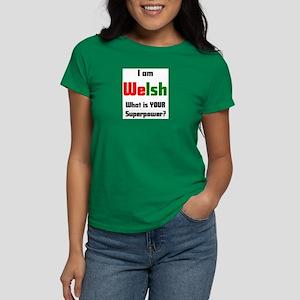 i am welsh Women's Dark T-Shirt