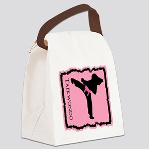 Taekwondo Canvas Lunch Bag