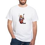 Shred It Skull Tattoo Guitar Player T-Shirt
