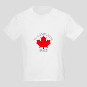 I'd Rather Be in Banff Kids Light T-Shirt