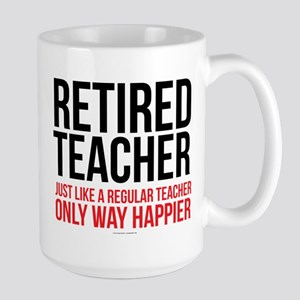 Happy Retired Teacher Mugs