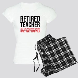 Happy Retired Teacher Women's Light Pajamas