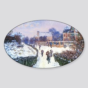 Claude Monet Boulevard in Arge Sticker