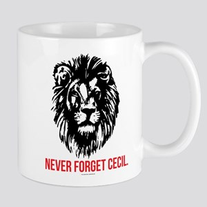 Never Forget Cecil Mugs