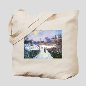 Claude Monet Boulevard in Argenteuil Tote Bag