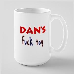 dan's fuck toy Large Mug