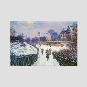 Claude Monet Boulevard in Argente Magnets