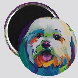 Dash the Pop Art Dog Magnet