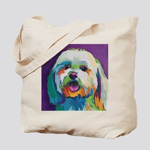 Dash the Pop Art Dog Tote Bag