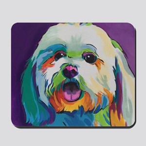 Dash the Pop Art Dog Mousepad