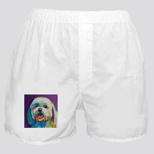 Dash the Pop Art Dog Boxer Shorts