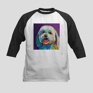 Dash the Pop Art Dog Baseball Jersey