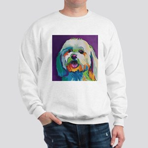 Dash the Pop Art Dog Sweatshirt