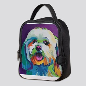 Dash the Pop Art Dog Neoprene Lunch Bag
