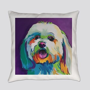 Dash the Pop Art Dog Everyday Pillow