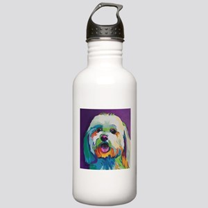 Dash the Pop Art Dog Stainless Water Bottle 1.0L