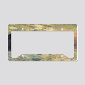 Claude Monet, Cliff Etretat S License Plate Holder