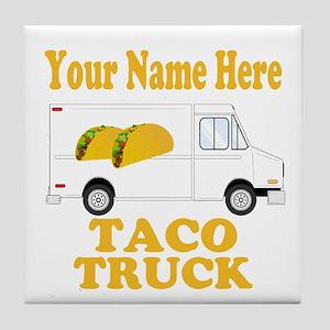 Taco Truck Tile Coaster