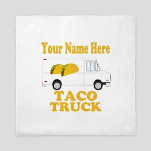 Taco Truck Queen Duvet