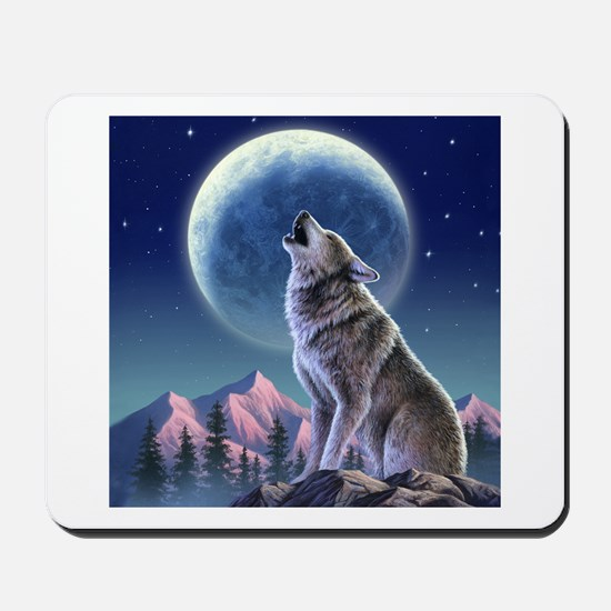 Howling Wolf 1 Mousepad