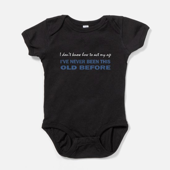 ACT MY AGE Baby Bodysuit