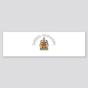 British Columbia Coat of Arms Bumper Sticker
