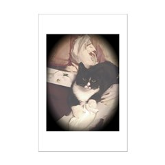 Get Well Soon Cat Poster Print