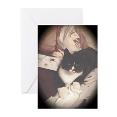 Get Well Soon Cat Greeting Cards