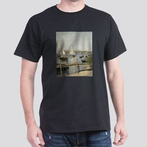 Caillebotte Sailing Boats at Argenteuil T-Shirt