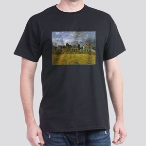Houses at Argenteuil by Claude Monet T-Shirt