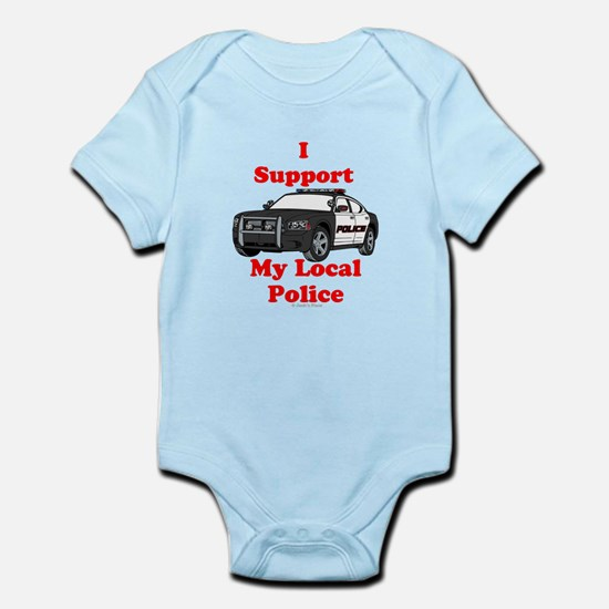 Support Local Police Body Suit