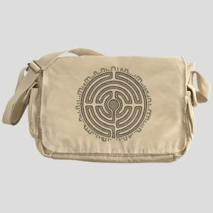 Celtic Labyrinth Mandala Messenger Bag