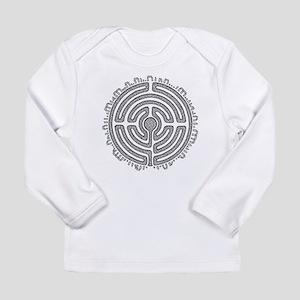 Celtic Labyrinth Mandala Long Sleeve T-Shirt