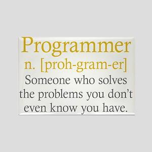 Programmer Definition Rectangle Magnet
