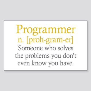 Programmer Definition Sticker