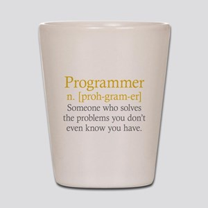 Programmer Definition Shot Glass