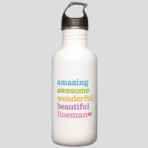 Amazing Lineman Stainless Water Bottle 1.0L