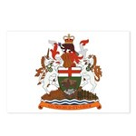 Manitoba Coat of Arms (Big) Postcards (Package of