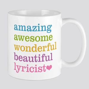Amazing Lyricist Mugs