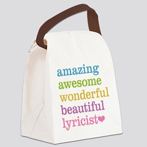 Amazing Lyricist Canvas Lunch Bag