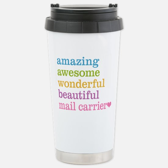 Amazing Mail Carrier Stainless Steel Travel Mug
