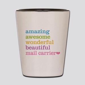 Amazing Mail Carrier Shot Glass