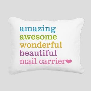 Amazing Mail Carrier Rectangular Canvas Pillow